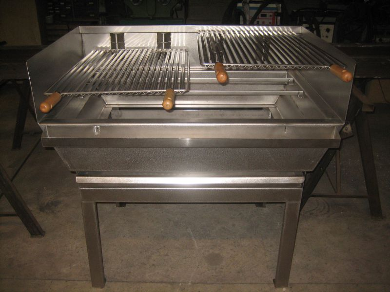 Barbecue en fabricant fran 231 28 images fabrication d for Fabrication barbecue exterieur
