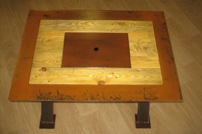 Fabrication d'une table basse
